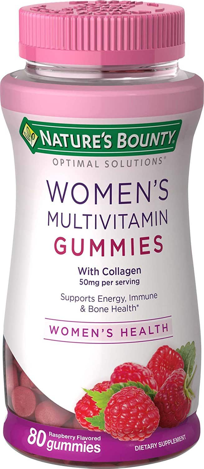 Nature's Bounty Optimal Solutions Women's Multivitamin, 80 Gummies $4.48 add on item@amazon