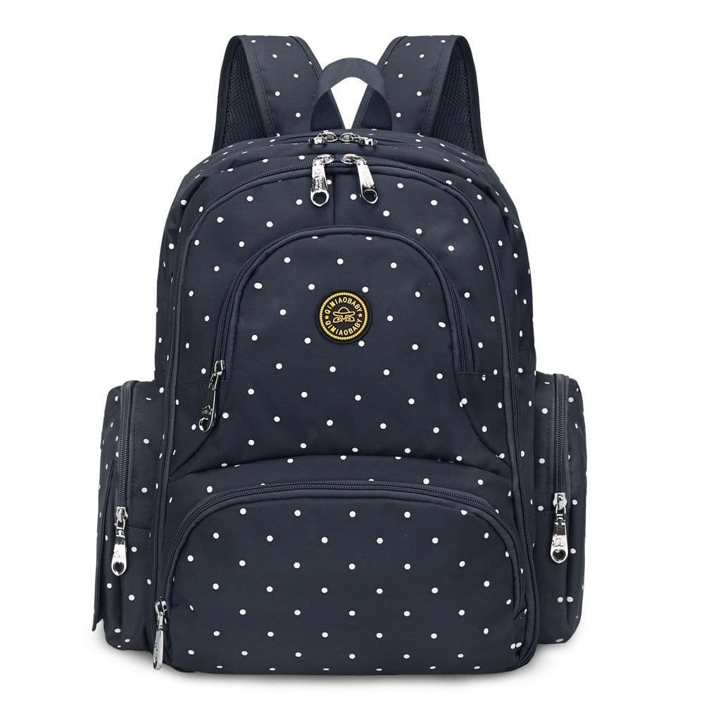 upgraded version water resistant baby diaper bag backpack with changing pad stroller clips 7. Black Bedroom Furniture Sets. Home Design Ideas