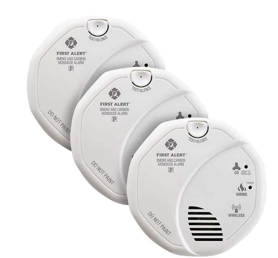 First Alert Smoke Detector/Carbon Monoxide Alarm Combo with Z-Wave $84.99