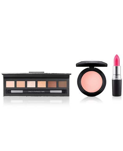 MAC 3-Pc. Face and Lip Set for $54.50 +free shipping