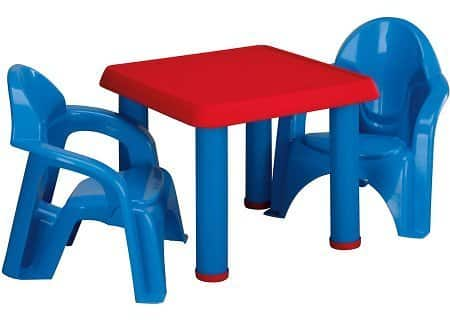 American Plastic Toys Table and Chairs $17.88