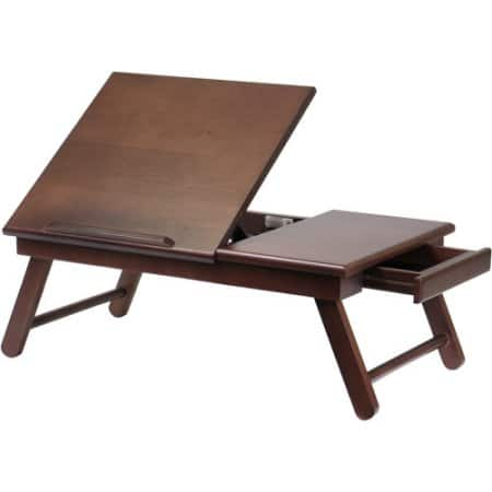 Alden Lap Desk/Bed Tray with Drawer $17