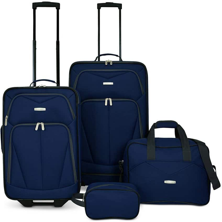 Kingsway 4-Pc Luggage Set (2 Colors) $39.99 + Free Shipping