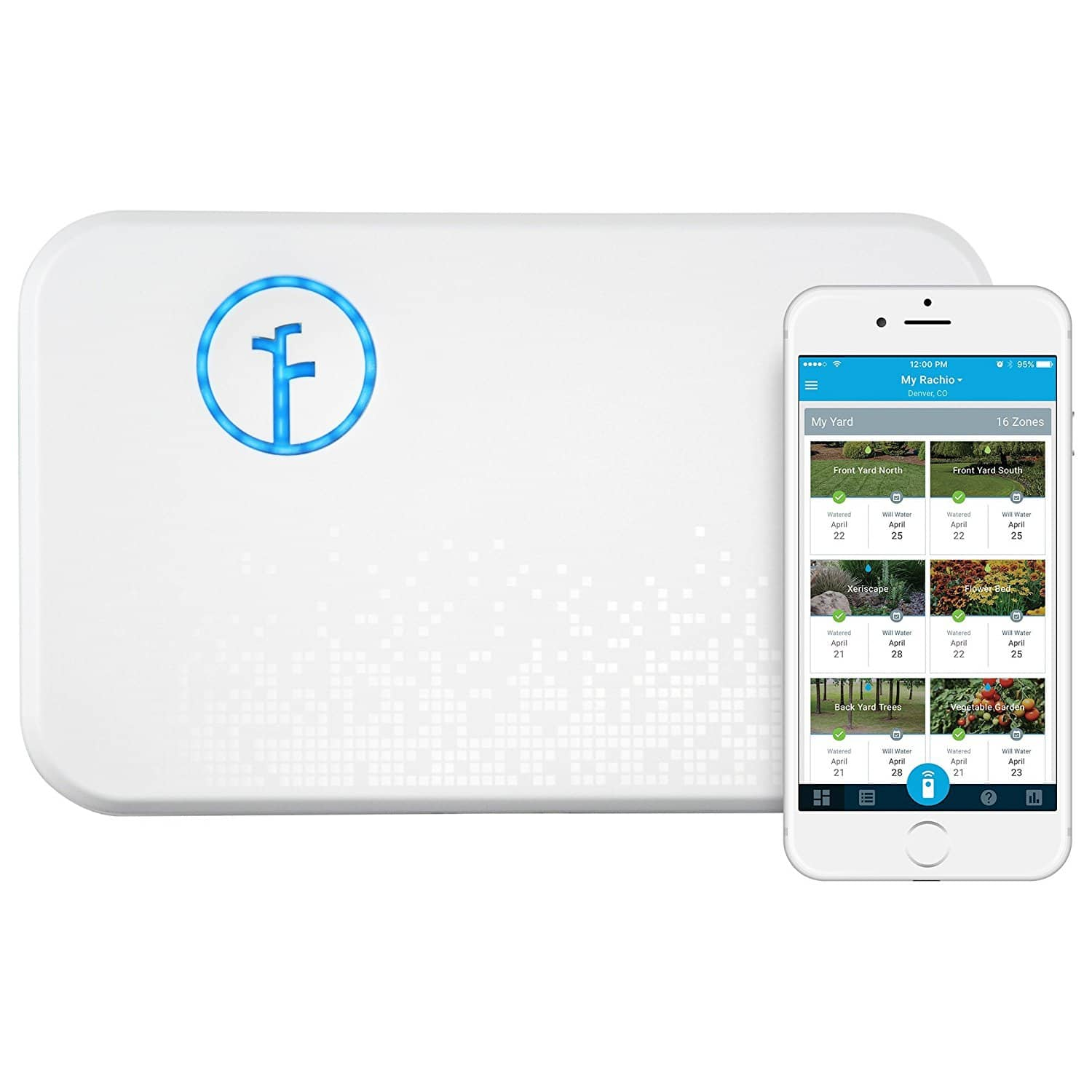 Rachio Smart Sprinkler Controller, Wi-Fi, 16-Zone 2nd Generation $142.50