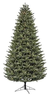 9-ft GE Pre-Lit Oakmont Spruce Christmas Tree w/ 900 LED Lights - Lowe's Clearance YMMV $99.50