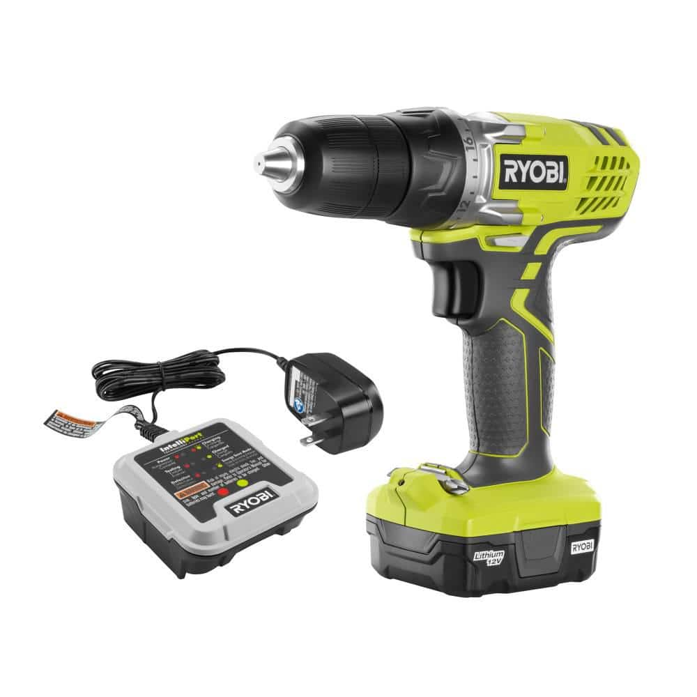 Reconditioned Ryobi 3/8 in. Drill/Driver Kits with Battery and Charger, 12 Volt $20.99, 18 Volt $29.99, w/free shipping @ Direct Tools Outlet
