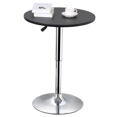 Yaheetech Adjustable Height Pub Bar Table Counter,Black $43.99w/FS @Walmart