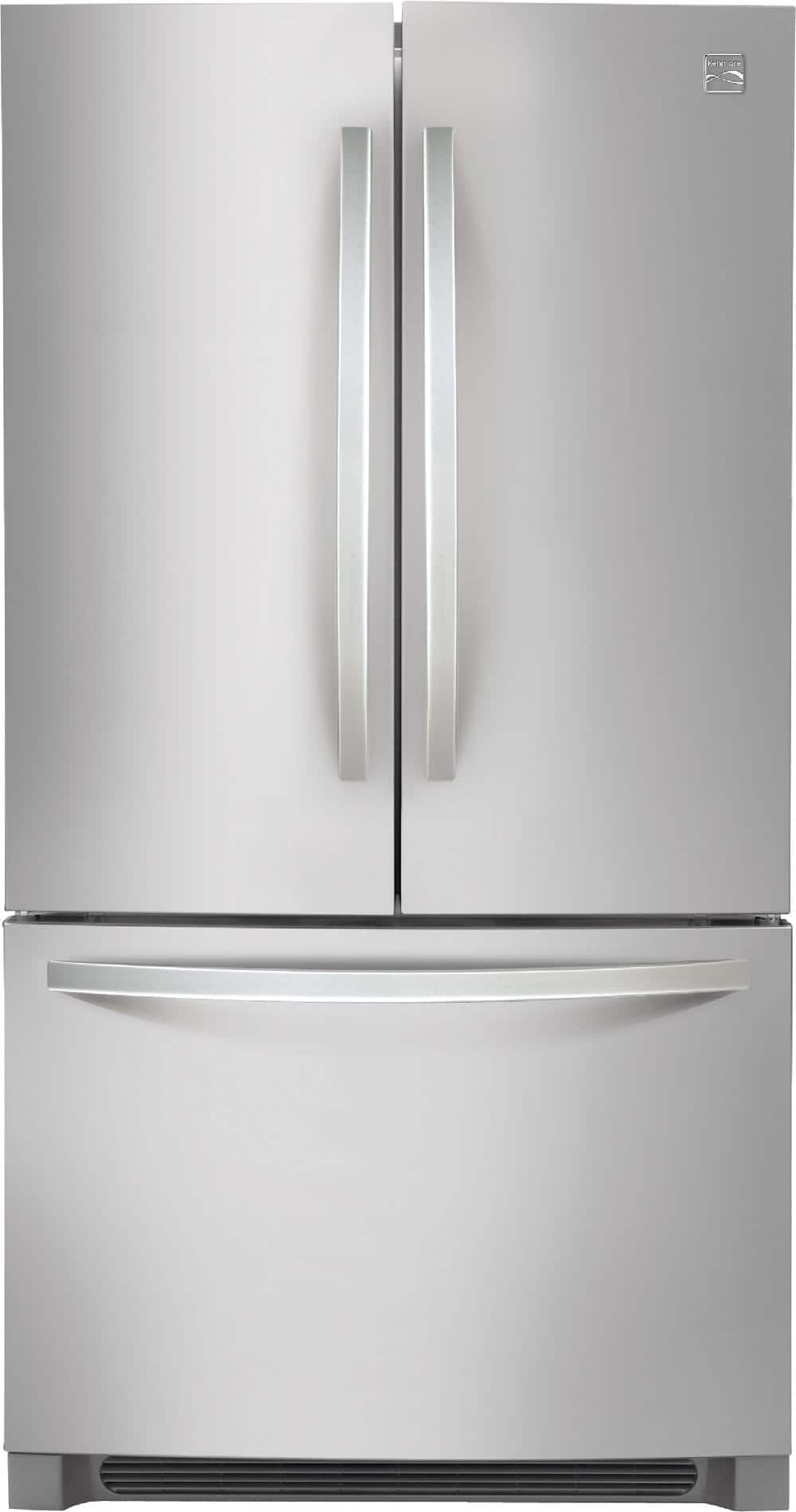 Kenmore 27.6 cu. ft. French Door Stainless Steel Refrigerator $1014.99