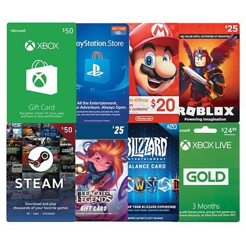 BOGO 10% Off Gaming Gift Cards