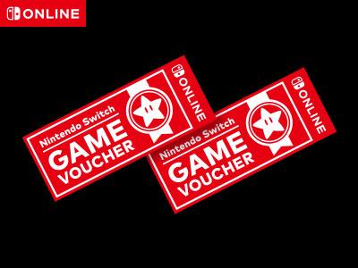Nintendo 2 Game Vouchers $90 YMMV