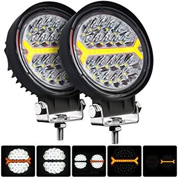Hikari Round 4.5 Inch, Off Road/Fog lights  - 5 light modes $18.49 after coupon Amazon