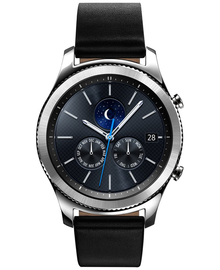 Samsung Gear S3 Smartwatch Classic or Frontier - Macy's $255 - New Customers - $224.40 after CB
