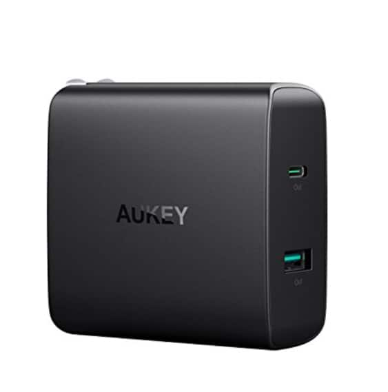 Amazon.com: Aukey 46W Charger USB-C PD 3.0 $27.99 AD