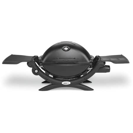 Weber Q 1200 Portable Gas Grill, Black $99 YMMV