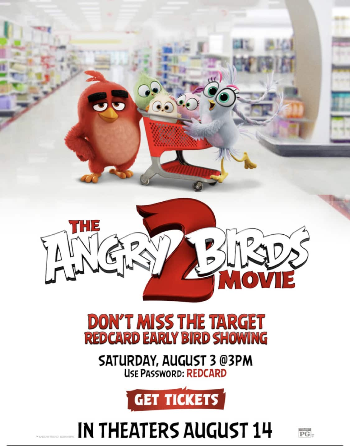 THE ANGRY BIRDS MOVIE 2 Early Bird Show