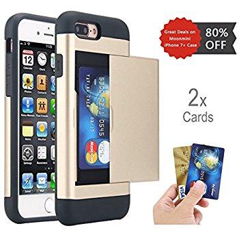 Moonmini iPhone 7/7+ Phone Cases- $3.49 AC + FS w/Prime