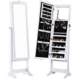 Giantex Mirrored Jewelry Cabinet with Stand- $49.99 AC + FS