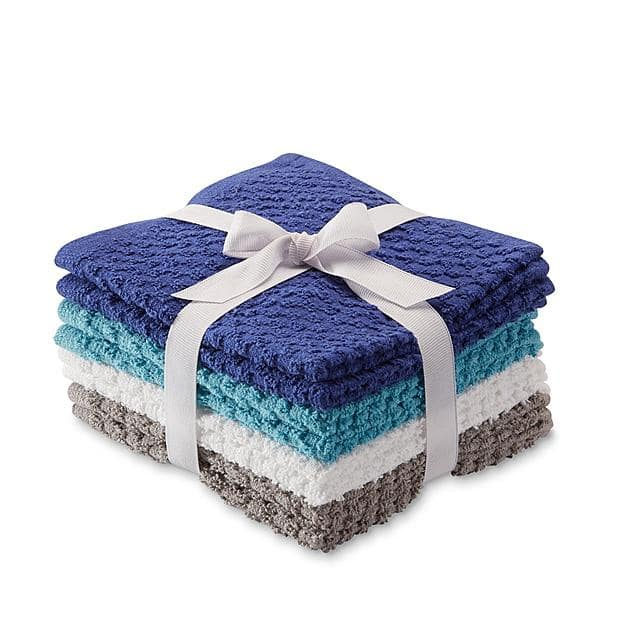 Colormate 8-Pack Washcloths - Multicolor $3.59 at Sears