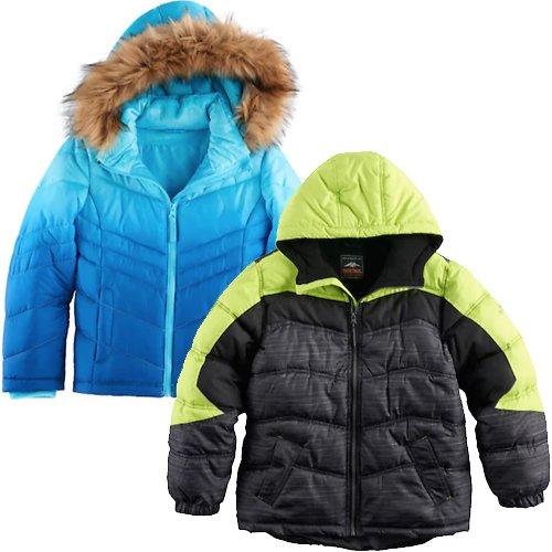 014021ddc3ce Girls 4-16 SO® Heavyweight Faux-Fur Trim Puffer Jacket  15.99 at ...