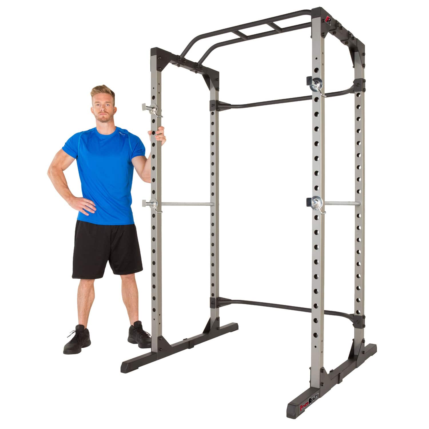 FITNESS REALITY 1000 Ultra 800lb Weight Capacity Power Rack Cage $199