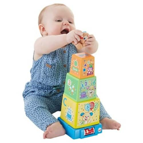 Fisher-Price Laugh and Learn Stack and Surprise Presents $9.98