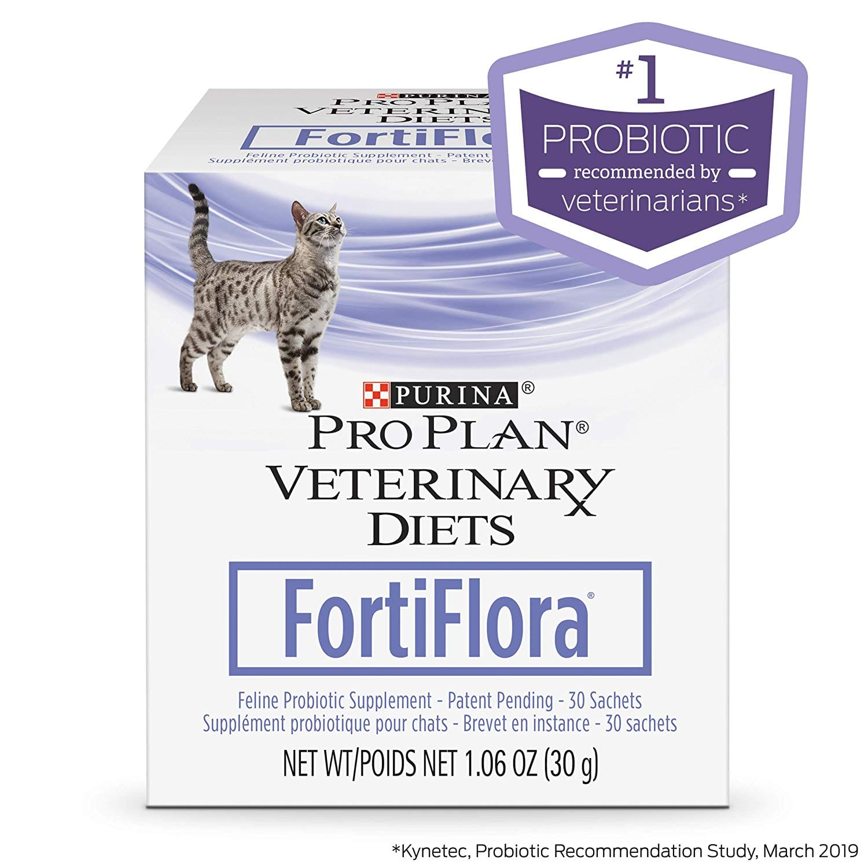 Purina Fortiflora Cat Probiotic - 30 ct. Box at Amazon Subscribe & Save $15.94