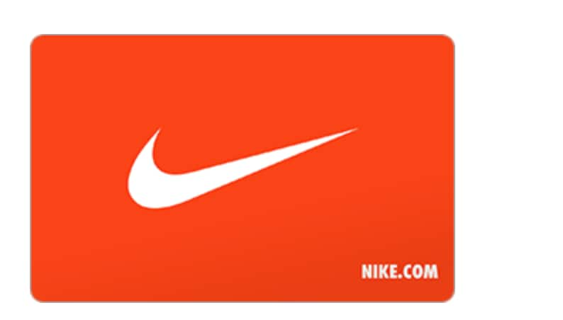 $50 Nike Gift Card + Bonus $10 Nike Gift Card (Mail Delivery ...