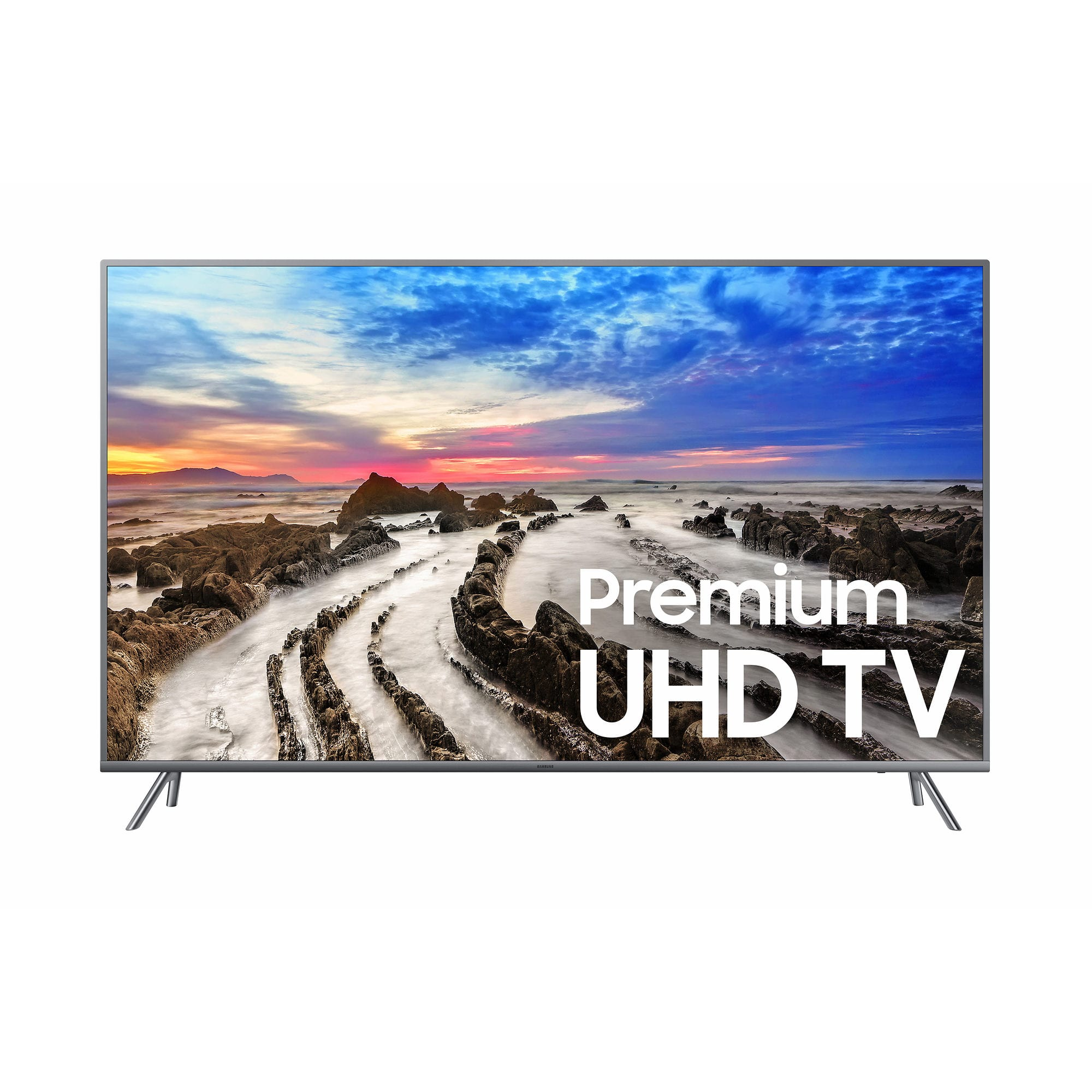 "Samsung UN55MU800D 55"" Premium 4K UHD HDR Smart LED TV with $100 Google Play Credit $679.99"