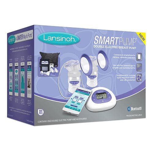 Lansinoh Smartpump Double Electric Breast Pump - $99.99 + Free Shipping