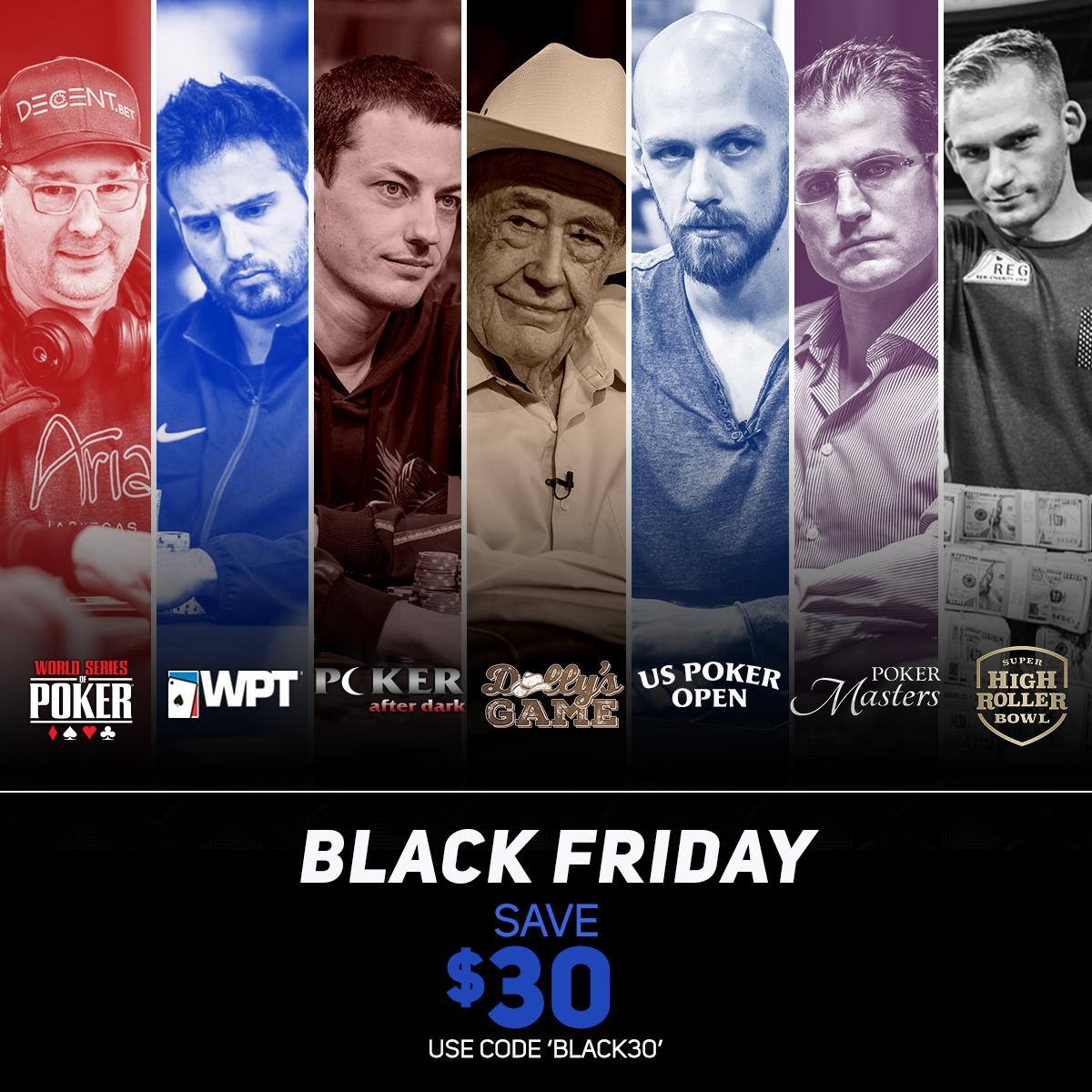 PokerGO Black Friday Sale - $30 Off $69
