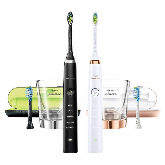 Costco Members: Philips Sonicare DiamondClean Rechargeable Toothbrush, 2-pack - $189.99