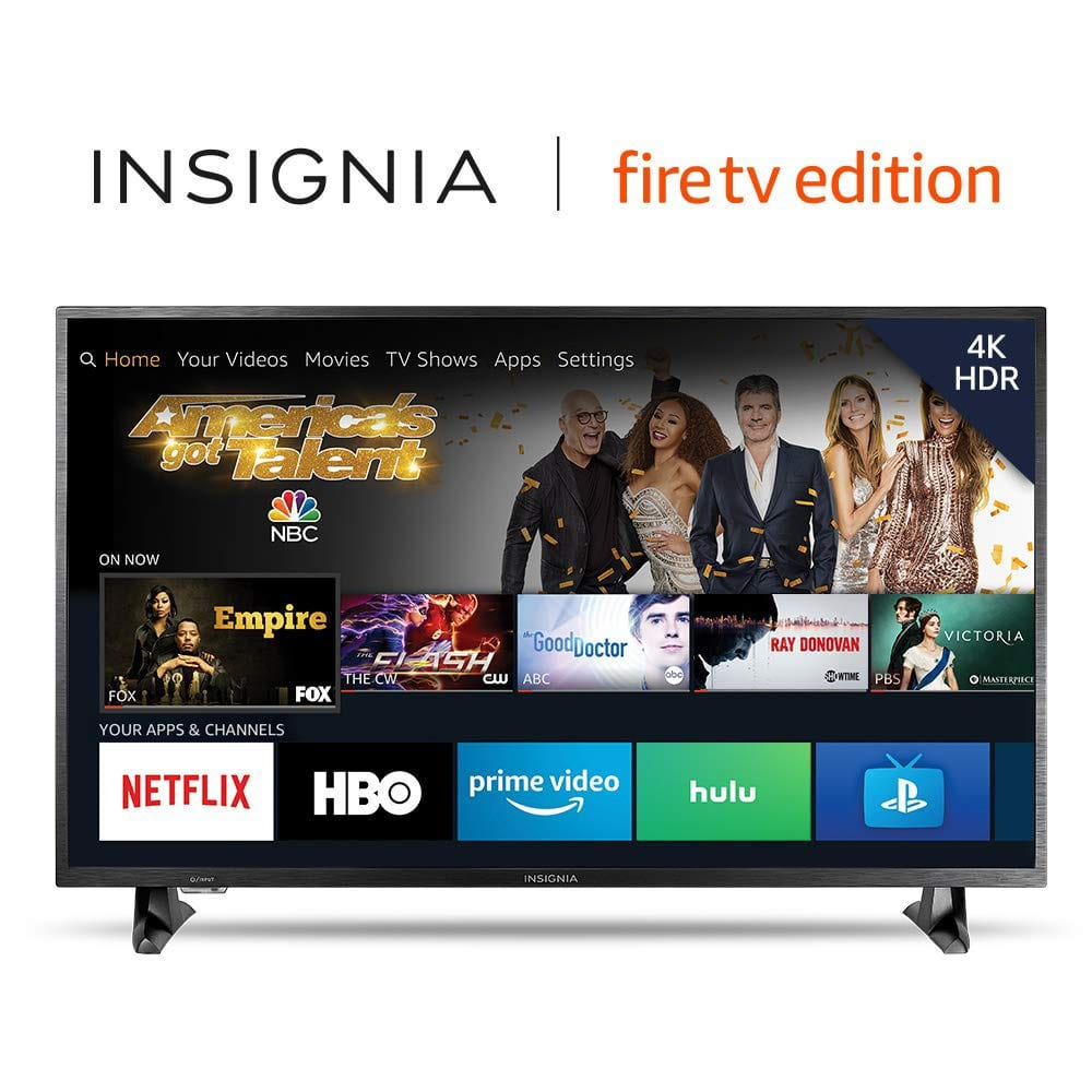 "43"" Insignia 4K UHD HDR Fire TV Edition Smart LED HDTV (NS-43DF710NA19) for 199 USD at Amazon again"