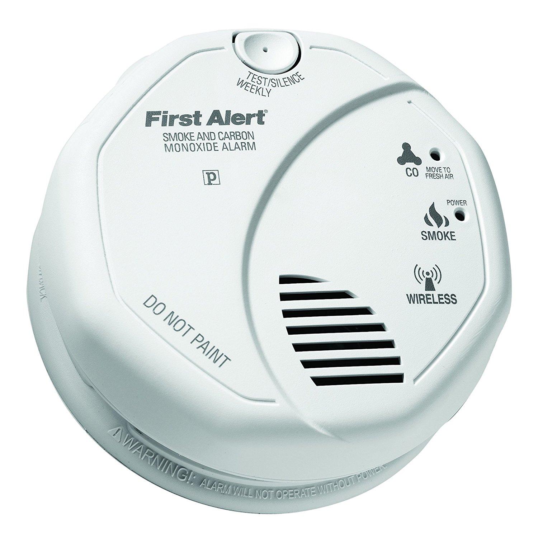 First Alert 2-in-1 Z-Wave Smoke Detector & Carbon Monoxide Alarm $33.51