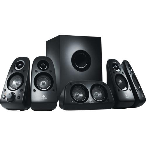 Logitech Z506 Surround Sound 5.1 Home Theater Speaker System $59.95
