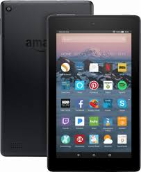 (Refurb) Amazon Fire 7 Tablet - 2015 Model (Includes Special Offers) - 16GB- 7'' inches - Touchscreen IPS Display - Quad-Core Processor - $19.99