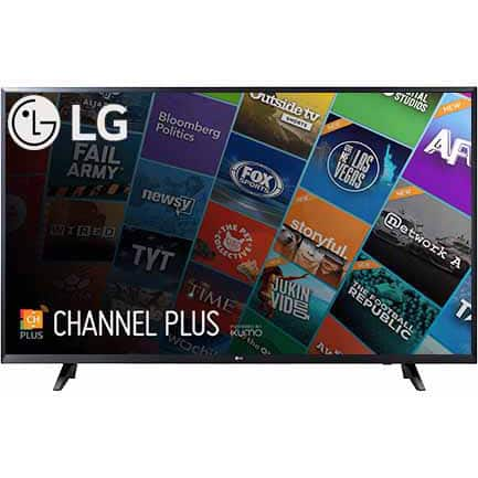 LG 65 Inch 4K Ultra HD Smart TV 65UJ6300 UHD TV - W/ Free $250 DELL Promo Gift card $899.99
