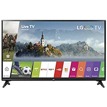 LG 32 Inch LED Smart TV 32LJ550B HDTV + $100 eGift Card $219.98
