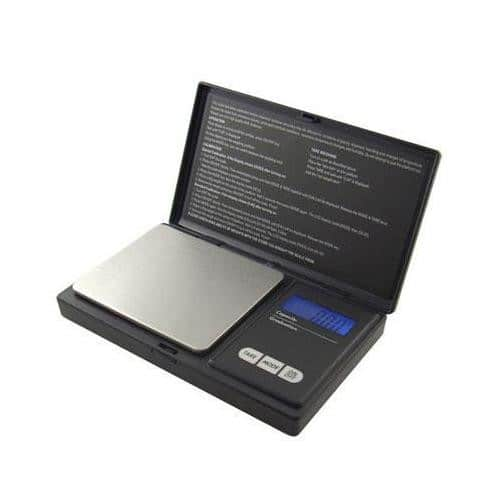 American Weigh Scales AWS-600-BLK Digital Personal Nutrition Scale - Pocket Size -$8.22 - Free shipping W/Prime