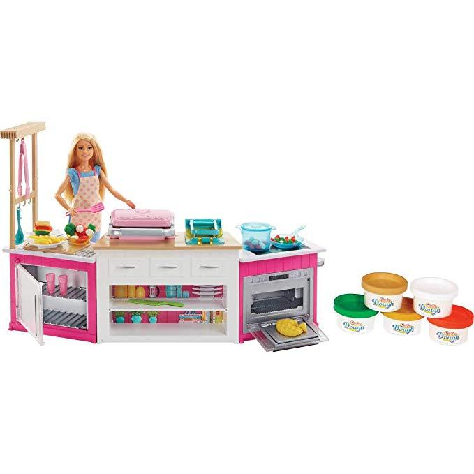 Barbie Ultimate Kitchen Playset $19.25