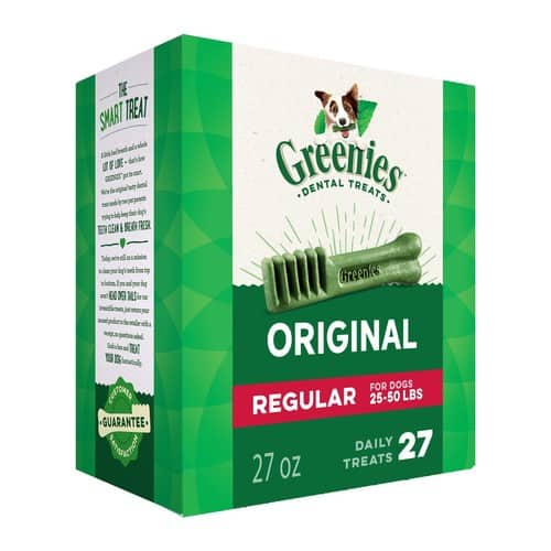 Prime / W / Alexa Offer - GREENIES Original Regular Size Dog Treats 27 Ounces @ $11.54