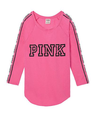 50% OFF All Pink Tees @ Victoria's Secret