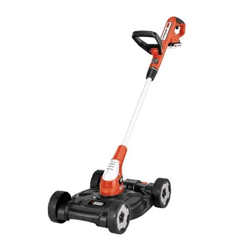 Black & Decker 12-Inch Lithium Cordless 3-in-1 Trimmer/Edger and Mower, 20-volt  for $95.99 @ Amazon.com FS