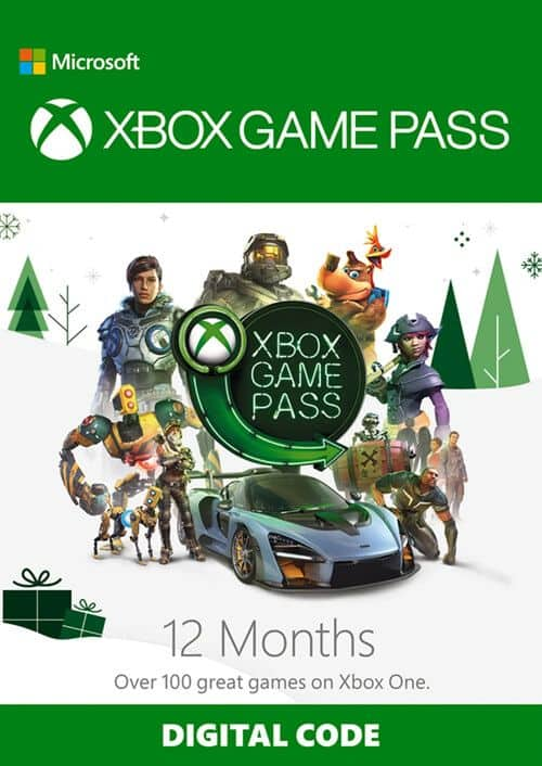 12 Months Xbox Game Pass for Xbox One - Digital Code $69.89