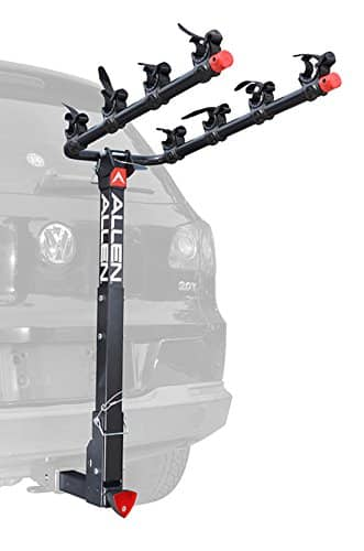 Allen Sports 4-Bike Hitch Racks for 2 in. Hitch [Deluxe Locking] w/ Prime & No-rush shipping. $79.99