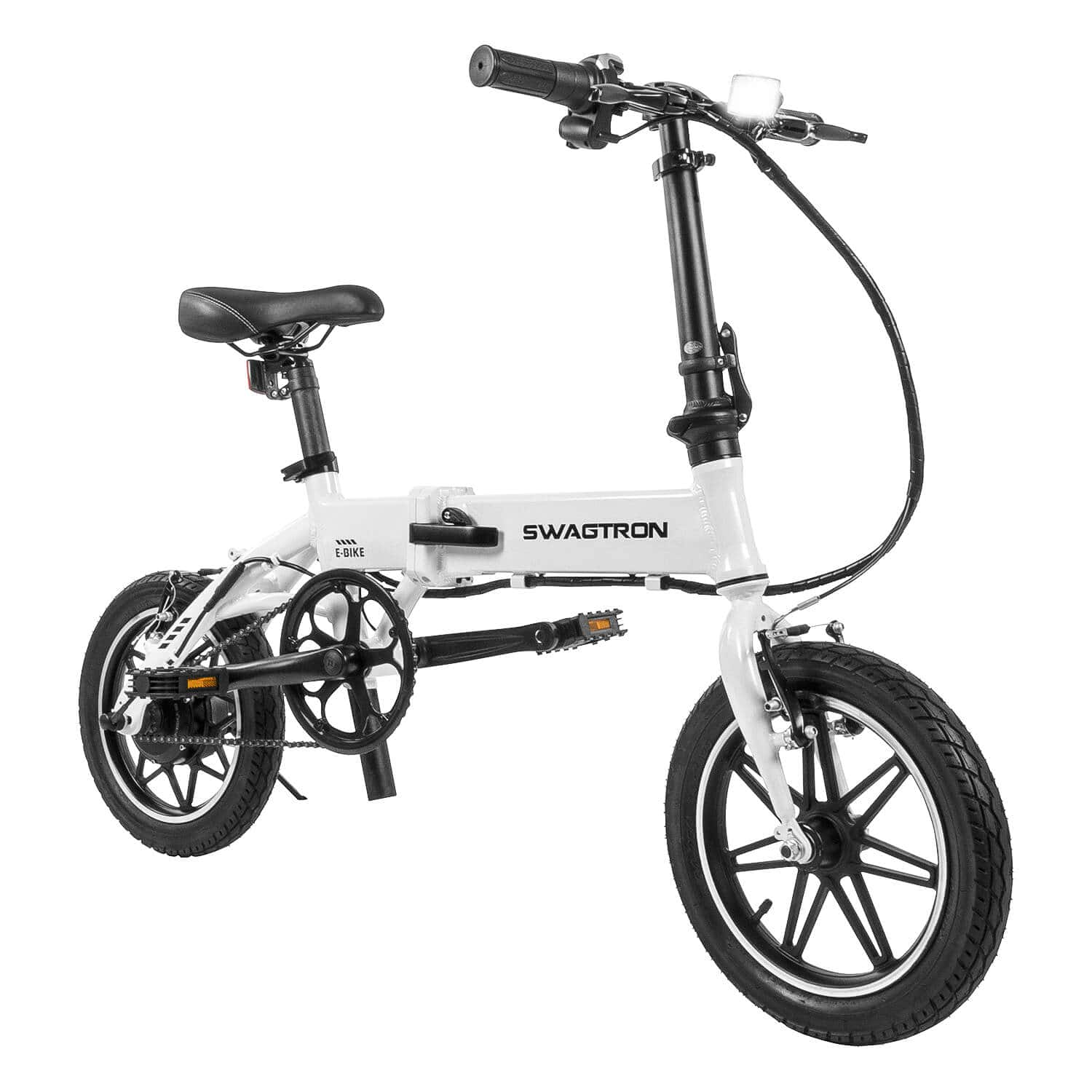 SwagCycle EB-5 Folding Electric Bike with Pedal Assist (w/ 150$ Kohls cash) $509.99