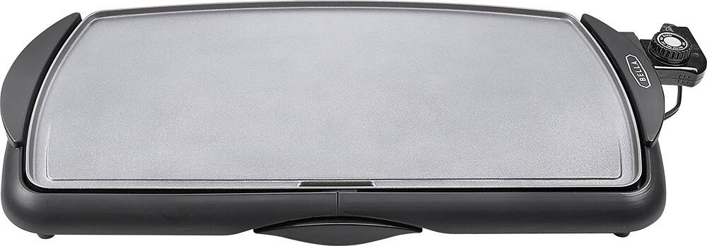 "$17.99 Bella - 10.5"" x 20"" Ceramic Griddle - Black"
