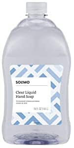Solimo Gentle & Mild Clear Liquid Hand Soap Refill, 56oz, $5.65 @ Amazon S&S