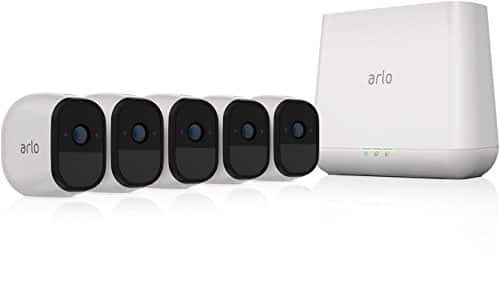 Arlo Pro - Renewed - Wireless Home Security Camera System | Rechargeable, Night vision, Indoor/Outdoor, HD Video, 2-Way Audio | Cloud Storage Included | 5 camera kit - $415.76
