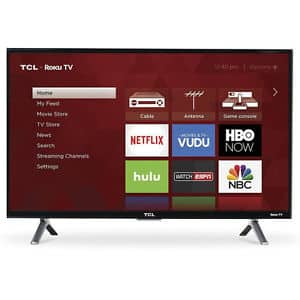 "10% OFF TCL 49"" 4K Ultra HD 49S405 for $314.99"