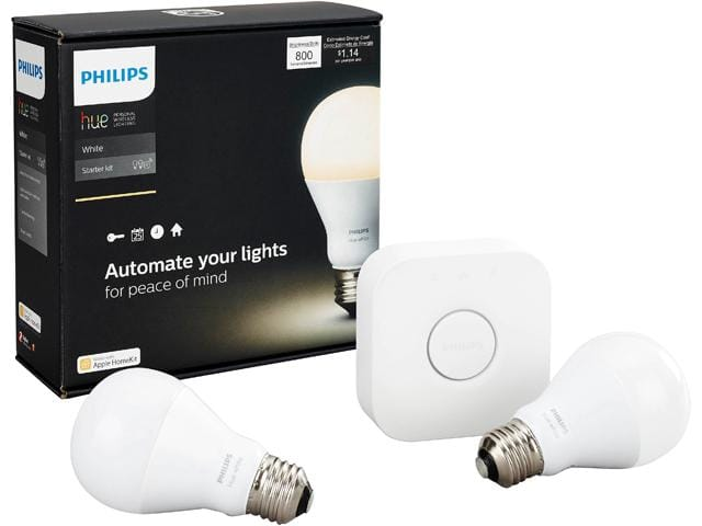 Philips Hue Starter Kit 2nd Generation (Refurbished) - $40 + $5 for standard shipping